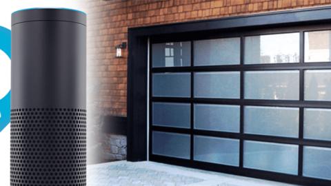 Alexa Garage Door Opener Voice Activated