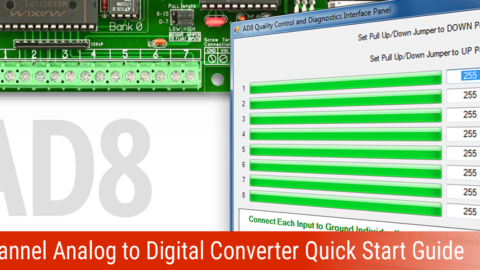 AD8 8-Channel Analog to Digital Converter Quick Start Guide