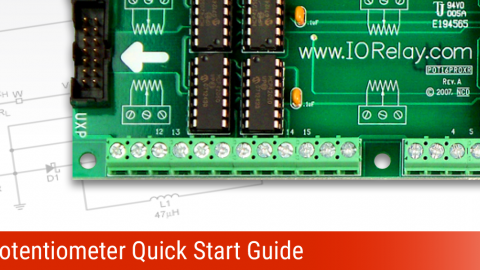 Digital Potentiometer Quick Start Guide