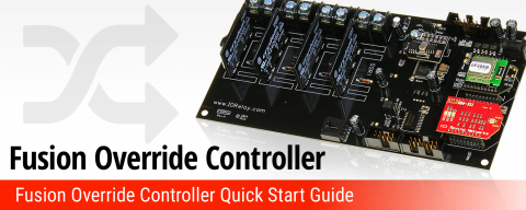 Fusion Override Controller Quick Start Guide