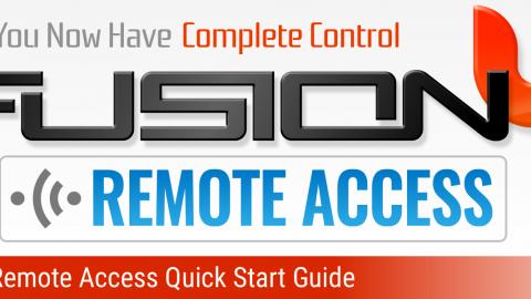 Fusion Remote Access Quick Start Guide
