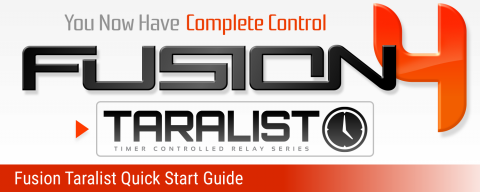 Fusion Taralist Quick Start Guide