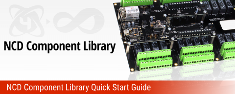 NCD Component Library Quick Start Guide