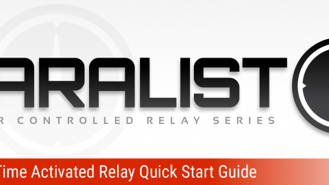 Taralist Time Activated Relay Quick Start Guide