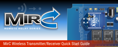 MirC Wireless Contact Closure Transmitter Receiver Quick Start Guide