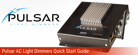 Pulsar AC Light Dimmers Quick Start Guide