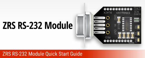 ZRS RS-232 Communications Module Quick Start Guide