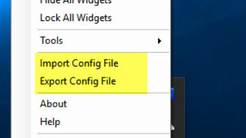 How to Export and Import Configuration File for N-Button