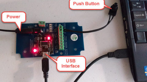 Set up USB Push Notification Board with N-Button