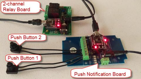 Conditional Relay Control with N-Button