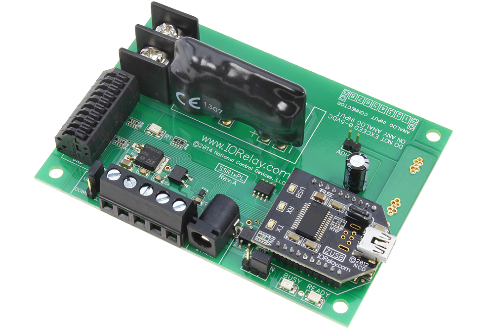 Usb relays with analog inputs and gpio from ncd