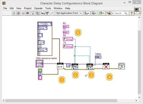 LabVIEW Relay Controller Advanced Configuration