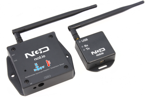 Long Range IoT Wireless Accelerometer Gyroscope Magneto Temperature Sensor Product Manual