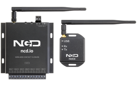 Long Range IoT Wireless 7 Channel Push Notification Sensor Product Manual