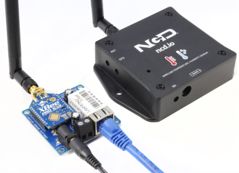 Receiving Wireless Sensor Data over Ethernet
