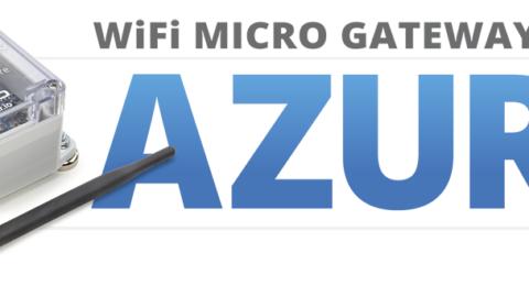 WiFi Micro Gateway Setup for Microsoft Azure