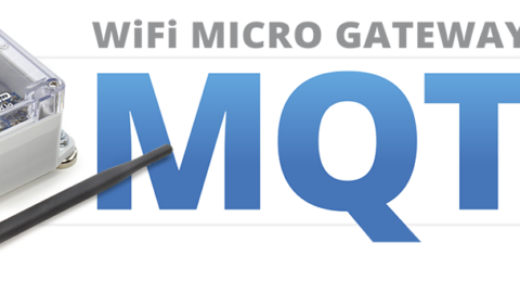 WiFi Micro Gateway Setup for MQTT