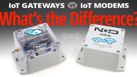 IoT Gateways vs IoT Modems – What's the Difference?