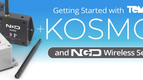 Getting Started with Kosmos and NCD Wireless Sensors