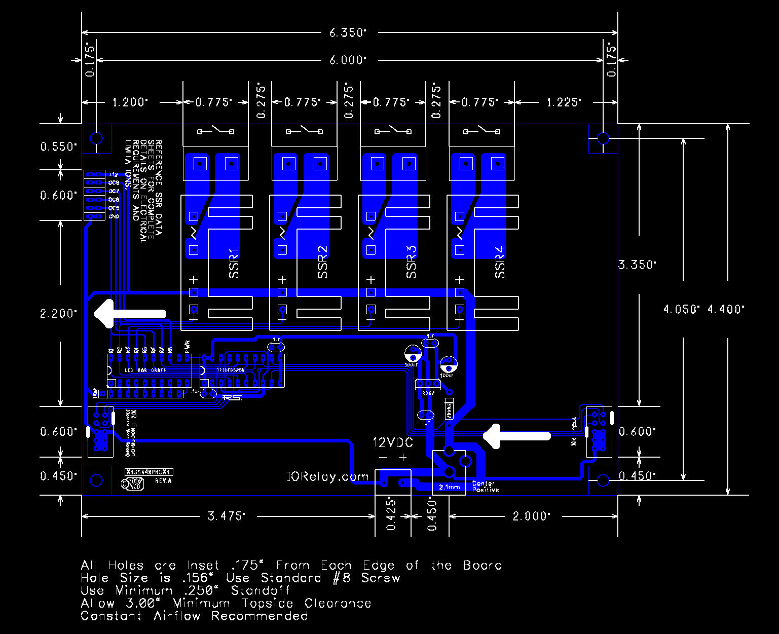 Xr Expansion 4 Channel Solid State Relay Controller